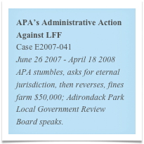 APA's Administrative Action Against LFF